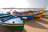 Colorful Fishing Boats of Alvor  Portugal  Europe