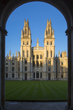 All Souls College  Oxford  Oxfordshire  England