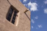 New Mexico  Santa Fe Typical Southwestern Hispanic Style Architecture