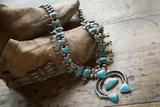 Necklace for Sale  Santa Fe  New Mexico USA