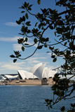 Australia  Sydney View of the Sydney Opera House and Harbor Bridge