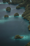 Micronesia  Palau  Aerial View of Rock Islands and World Heritage Site