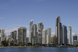 Australia  Queensland  Gold Coast Waterfront View of Surfers Paradise