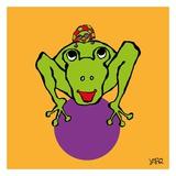 Frog and Ladybug