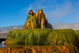 USA  Nevada  Gerlach  Fly Geyser  Black Rock Desert