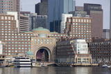 Massachusetts  Boston Downtown City Skyline and Waterfront