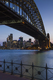 Australia  Sydney Harbor Bridge and Skyline from Milsons Point