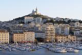 France  Bouches Du Rhone  Marseille View Overlooking Vieux Port