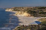 Australia  Fleurieu Peninsula  Port Willunga  Sunset