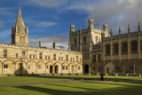 Christ Church College and Cathedral  Oxford  Oxfordshire  England