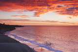 Australia  Fleurieu Peninsula  Port Willunga  Sunset