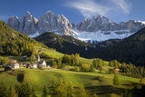 Val Di Funes  Santa Maddalena and Geisler Spitzen  Dolomites  Italy