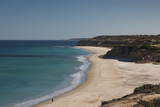 Australia  Fleurieu Peninsula  Port Willunga  Elevated Beach View