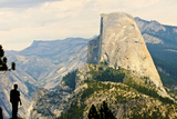 USA  California  Yosemite National Park  Half Dome  from Washburn Point