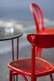 Australia  Victoria  Melbourne  Fitzroy  Gertrude Street  Cafe Table