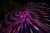Los Angeles  Santa Monica  Cityview and Ferris Wheel at Night