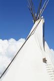 Santa Fe  New Mexico USA Native American Tee Pee