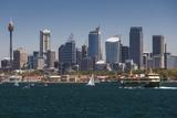 Australia  Sydney  Skyline View from Sydney Harbor Ferry