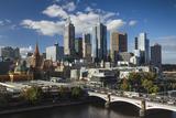 Australia  Victoria  Melbourne  Skyline  Yarra River  Princess Bridge