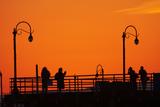 Los Angeles  Santa Monica  Santa Monica Pier at Sunset