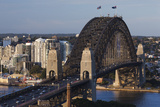 Australia  Sydney  the Rocks Area  Sydney Harbor Bridge  Elevated View