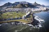South Africa  Capetown  Aerial View of City
