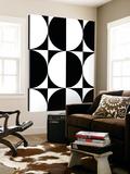 Monochrome Patterns 5 Toile Murale Géante par Natasha Marie