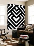 Monochrome Patterns 6 Toile Murale Géante par Natasha Marie