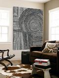 Clustered Dots B Toile Murale Géante par Natasha Marie