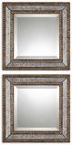 Norlina Squares Antique Mirror Set/2