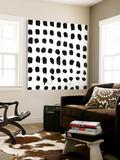 Black and White E Toile Murale Géante par Franka Palek