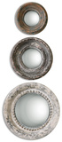 Adelfia Round Mirrors  S/3