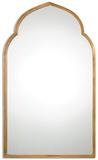 Kenitra Gold Arch Mirror*
