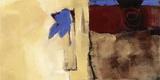 Le cœur est un oiseau Toile Murale Géante par Diane Lambin