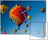 Hot Air Balloons in a Hot Air Balloon Festival  Albuquerque  New Mexico  USA