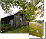 A Barn in the Maple Grove Road Rural Historic District