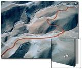Serpentine Trail Wends It Way Through the Cerro Verde Mining Region