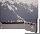 Oil Tanker and Tug Escorts in Prince William Sound  Alaska