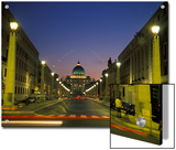 Saint Peter's Square at Vatican City at Night