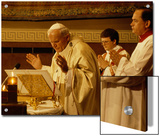 Pope John Paul II Performs a Mass at the Vatican