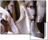 Heap of Ballet Shoes at Ballerina Camp  Aspen  Colorado