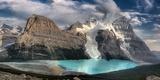 Berg Lake  Mount Robson Provincial Park; Mount Robson Provincial Park British Columbia Canada