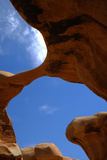 An Arch in the Devils Garden in Grand Staircase-Escalante National Park  Utah