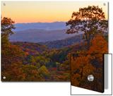 Autumn Scene in the Blue Ridge Mountains
