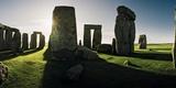 Stonehenge at Sunrise  Looking East
