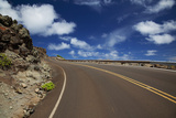 Hawaii  Maui  Open Road and Blue Skies on the West Side