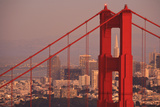 View from Golden Gate National Recreation Area Golden Gate Bridge with City of San Francisco