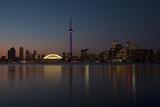 Toronto Skyline on September 2008; Toronto  Ontario  Canada