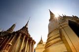 Low Angle View of the Grand Palace in Bangkok; Bangkok Thailand