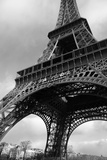 Paris  France; Low Angle View of the Eiffel Tower